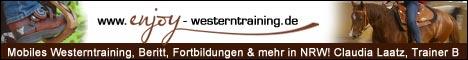 Enjoy Westerntraining - Claudia Laatz